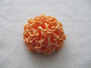 Ozdoby do vlasov - Lososová hortenzia - 7524348_