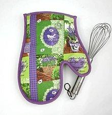 Úžitkový textil - levanduľová - 7526838_
