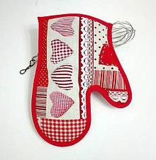 Úžitkový textil - srdiečková - 7529315_