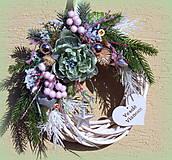Dekorácie - Vianočný veniec