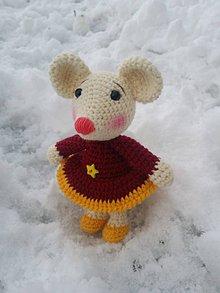 Hračky - myšička mia - 7529019_