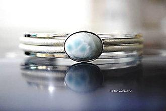 Šperky - náramok Larimar - 7529937_