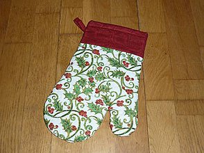 Úžitkový textil - Rukavica kuchynská - 7528482_