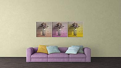 Obrazy - HORTENZIA 7 fotoplátno 60x60 cm - 7527387_