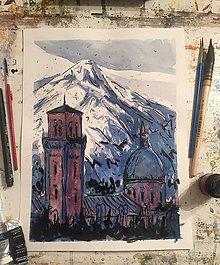 Obrazy - Tatry a Kezmarok - 7528691_
