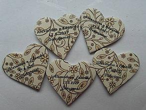 Darčeky pre svadobčanov - typy písma na svadobné magnetky - 7530384_