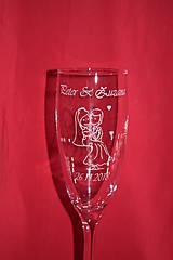 Nádoby - Svadobné poháre + gravirovanie 31 - 7529329_