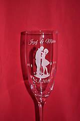 Nádoby - Svadobné poháre + gravirovanie 32 - 7529332_