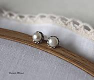 - napichovačky biele perly (M) - 7528811_
