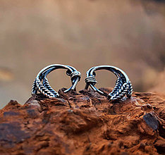 Náušnice - Wheat earrings - 7534695_