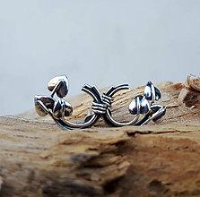 Náušnice - Knotted earrings - 7534752_