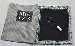Hračky - zapínací list k detskej tabuľovej knižke - 7534334_