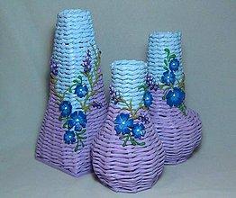 Dekorácie - Set 3 dekoračných váz - 7533202_