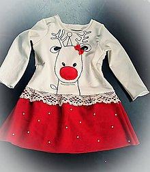Detské oblečenie - Vianočné šatky - 7531318_
