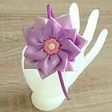 Čelenka pre dievčatko fialová