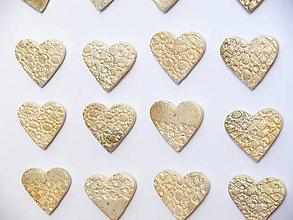Magnetky - Magnetka Máš zlaté srdce - 7531565_