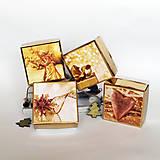 Papiernictvo - Krabička vianočná zlatá - mix1 - 7535053_