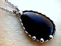 - cínový náhrdelník - Apačské slzy  - 7531825_