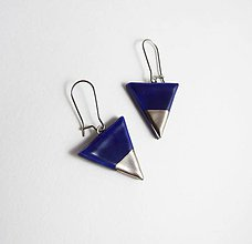 Náušnice - Tana šperky - keramika/platina - 7531261_