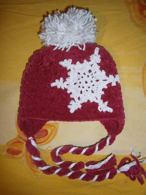 d0f32b8d2 Zimná vločková ušianka / Maminadvochdievcat - SAShE.sk - Handmade ...