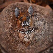 Magnetky - Nemecký ovčiak - magnet podľa fotografie psa - 7532741_