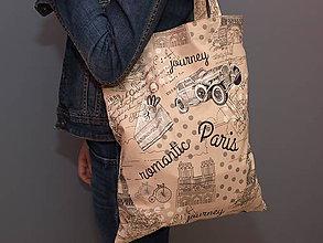 Nákupné tašky - ...Paris... - 7531079_
