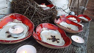 Svietidlá a sviečky - Jablká v ľade - 7533047_
