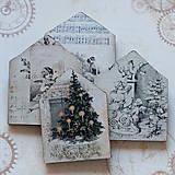 Dekorácie - Vianočný domček - 7535301_