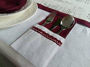 Úžitkový textil - Puzdro na príbor Silent Night - 7534621_