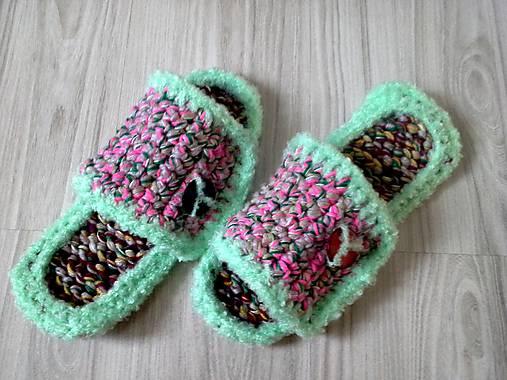 13728d479ce90 Papuče - vsuvky / vviera - SAShE.sk - Handmade Obuv