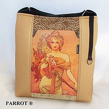 Kabelky - SPRING - JARO * SECESE * A. MUCHA * no.13 PARROT® - 7541050_