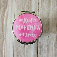 Zrkadielka - Zrkadielko Najlepšia maminka na svete - 7537547_