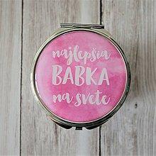 Zrkadielka - Najlepšia babka na svete - zrkadielko - 7537957_