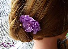 vlasová sponka lila