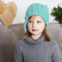 Detské čiapky - čiapka TOČENÁ - 7537880_