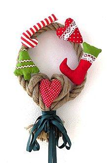 Dekorácie - vianočná dekorácia - 7539895_