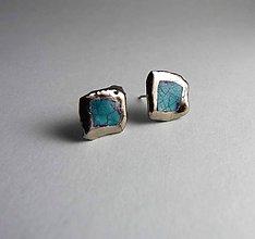 Náušnice - Tana šperky - keramika/platina - 7537310_