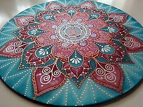 Dekorácie - Mandala materinskej lásky - 7539413_