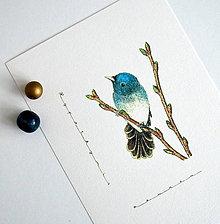 Kresby - Vípkár azúrový vo farbách - 7536637_