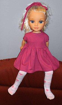 Bábiky - Šatôčky pre bábiku Adelku - 7537078_