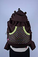 Detské doplnky - Ochranná termo kapsa - farebné bodky - 7540727_