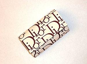 Peňaženky - Peňaženka - Dior. - 7536933_
