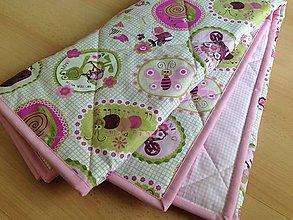 Textil - Nežná zvieratková deka pre bábätko - 7537058_