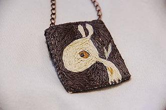 Náhrdelníky - Mágia bieleho zajaca - 7542640_