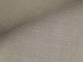 Textil - 100% Ľanové plátno prírodné - 7542604_