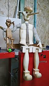 Hračky - Drevený Pinocchio - 7546971_