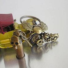 Iné - kľúčenka pre motorkárov - 7545025_