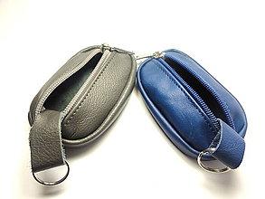 Kľúčenky - Sivá alebo modrá kľúčenka pre muža - 7544836_