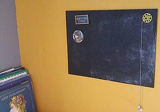 Tabuľky - Magnetická tabuľka 10 (40cm x 50cm) - 7545517_