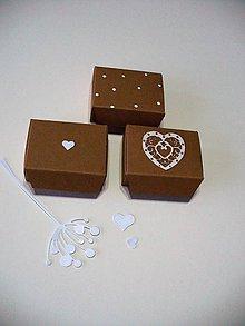 Darčeky pre svadobčanov - mini koláčiková...(zdobená) - 7544921_